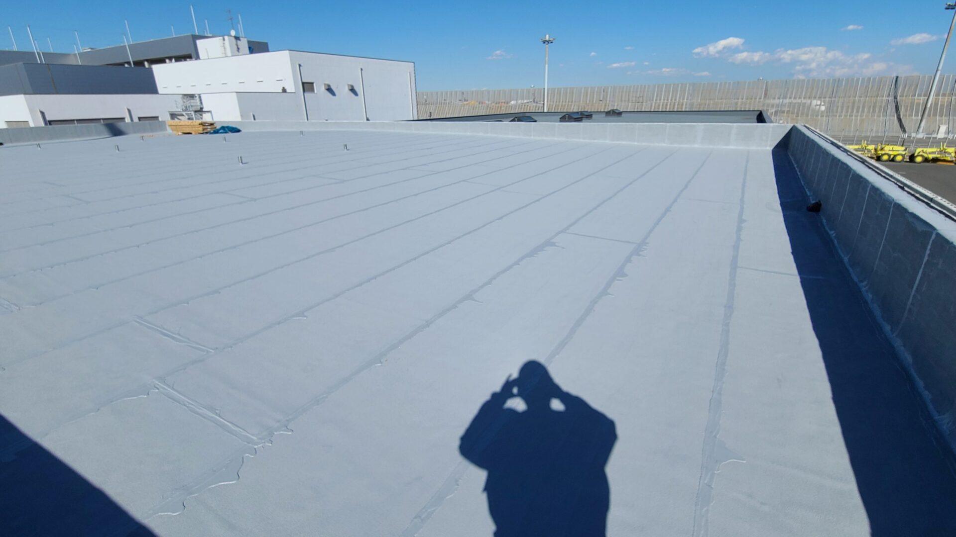 防水工事の実績(東京国際空港)完成