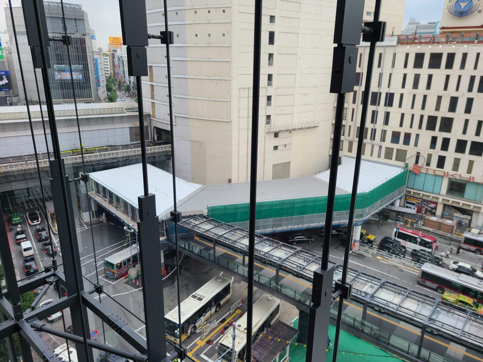 防水工事の実績(渋谷駅)完成
